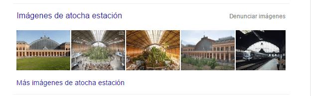 Google Imágenes Atocha